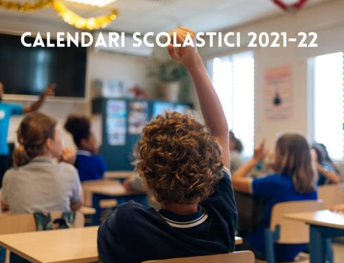 Calendario Anno Scolastico 2021-22